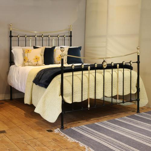 Decorative Antique Bed in Black (1 of 7)