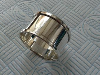 1931 Antique Sterling Silver Napkin Ring Henry Griffith & Sons Ltd (1 of 5)