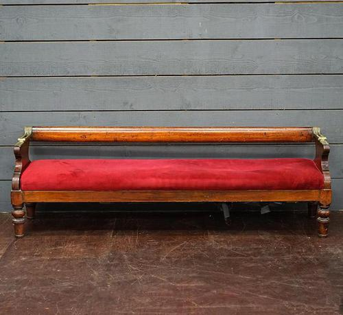 Early Victorian Ships Port & Starboard Bench (1 of 8)