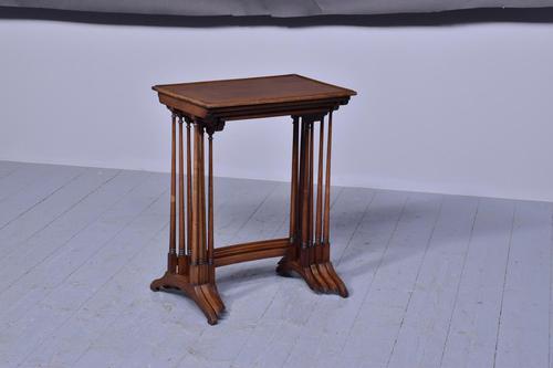Quartetto of Mahogany Occasional Tables (1 of 6)