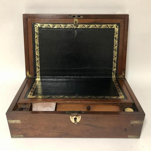 Antique Victorian Mahogany Writing Slope Box (1 of 16)