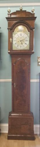 Queen Anne Period Walnut Longcase Clock (1 of 11)