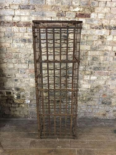 French Steel Wine Cage (1 of 4)