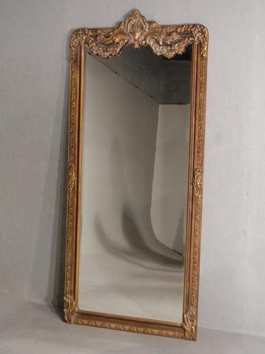 A Very Large Late 19th Century Giltwood Mirror (1 of 4)