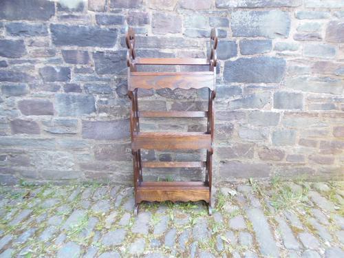 Arts & Crafts Carved Oak Book Rest (1 of 13)