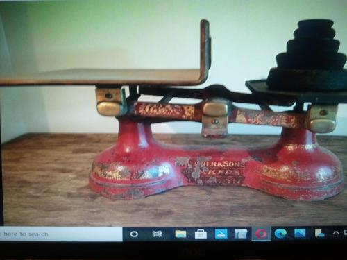 Nice OLD scales with Weights (1 of 1)