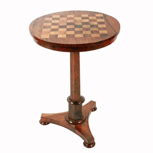 George IV Rosewood Games Table (1 of 8)