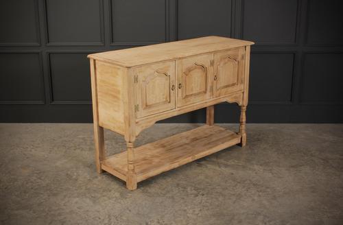 Rustic Light Oak Sideboard (1 of 9)