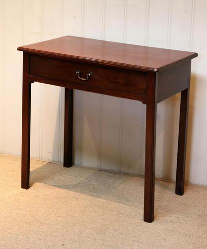 Georgian Mahogany Side Table c.1800 (1 of 9)