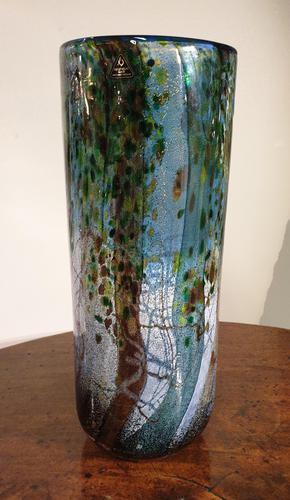 Michael Harris Signed 'Undercliff' Cylinder Vase (1 of 6)