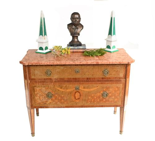 Swedish Chest of Drawers Antique Neo Classical Commode (1 of 11)
