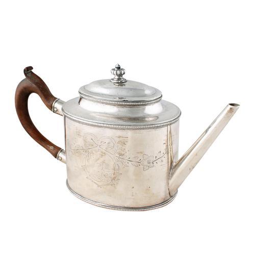 18th Century Sheffield Plate Tea Pot (1 of 8)