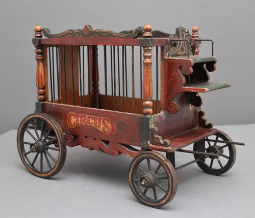 Early 20th Century Model of a Circus Wagon (1 of 10)