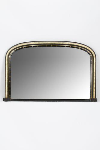 Victorian Gothic Revival Overmantle Mirror (1 of 13)