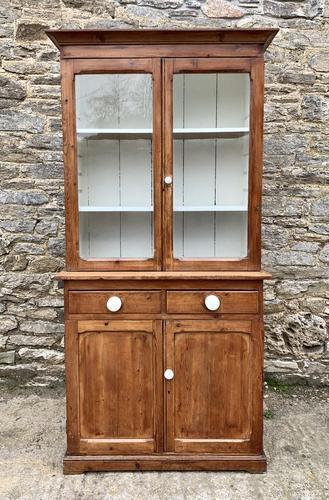 Small Antique Pine Glazed Dresser (1 of 18)
