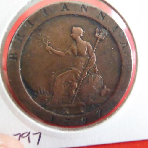 George III Cartwheel Penny (1 of 2)