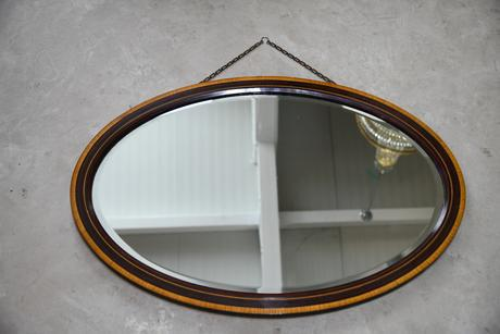 Vintage Oval Wall Mirror (1 of 12)