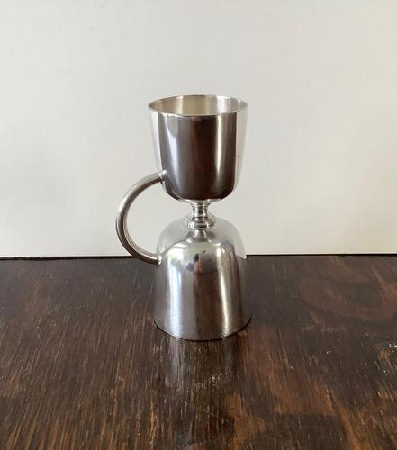 Silver Plated Double Jigger (1 of 5)