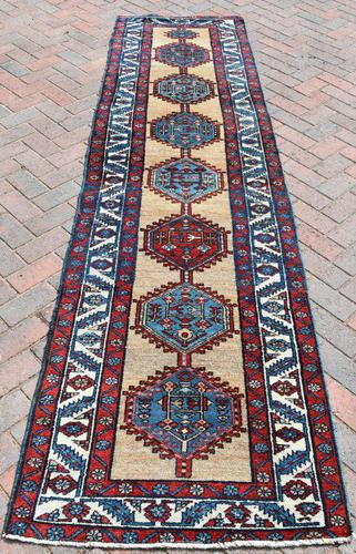Old Hamadan Narrow Runner 310x84cm (1 of 6)