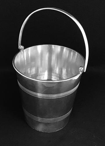 Victorian Silver Plated Ice / Wine / Champagne  Bucket by Philip Ashberry &Son (1 of 7)