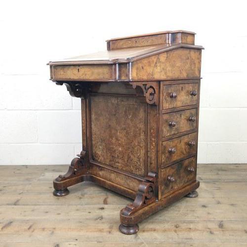 Victorian Walnut Davenport Desk (1 of 10)