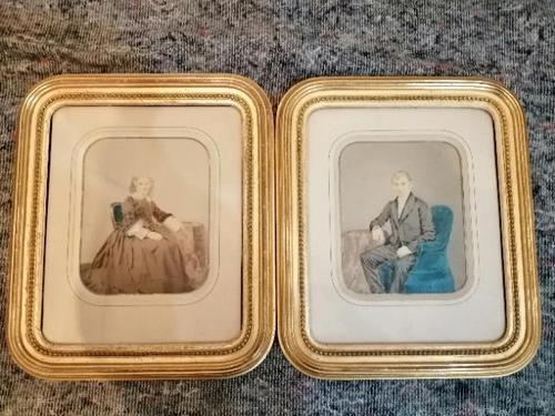 A pair of 19th century daguerreotype portraits (1 of 7)