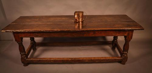 Good 17th Century Refectory Table Oak (1 of 11)