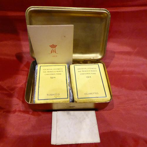 WW1 Princess Mary Gift Tin COMPLETE (1 of 6)