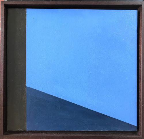 Original Oil on Board 'abstract' by John Firth 1921-1998. Initialled and Dated 65 (1 of 2)