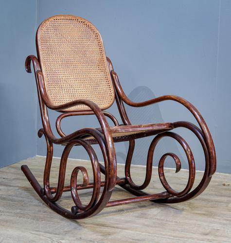 Bentwood Rocking Chair (1 of 6)