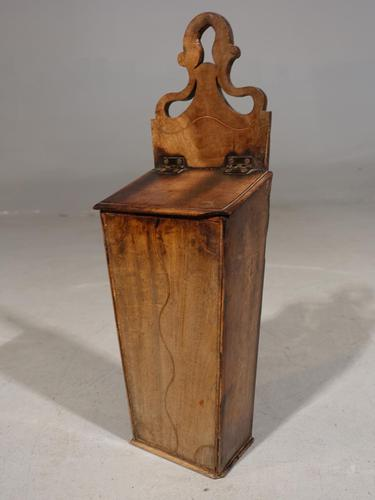 Attractive George III Period Mahogany Candle or Knife Box (1 of 4)