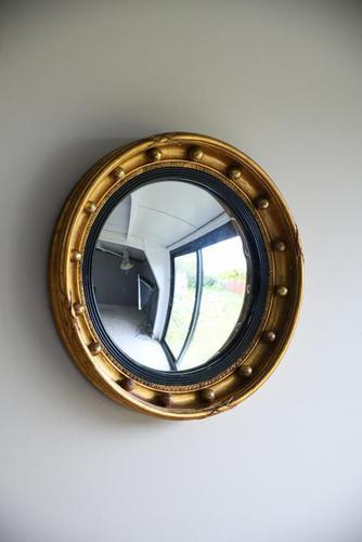 Regency Style Convex Wall Mirror (1 of 11)