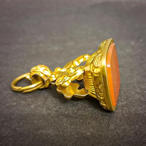 19th Century Pinchbeck Fob (1 of 4)