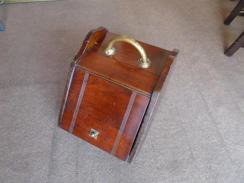 A Mahogany Coal Box from  c 1920's - 30's (1 of 6)