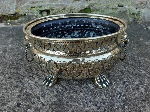 Beautiful 19th Century Pierced Brass Vase (1 of 5)