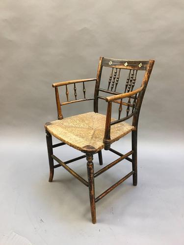 Regency Painted Sussex Chair (1 of 12)