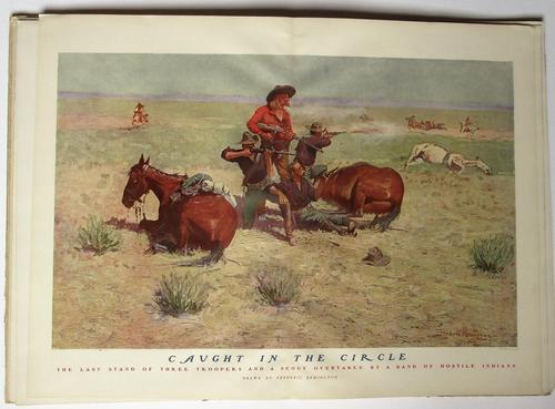 Done in the Open, Frederic Remington first edition, true Wild West pictures 1902 (1 of 8)