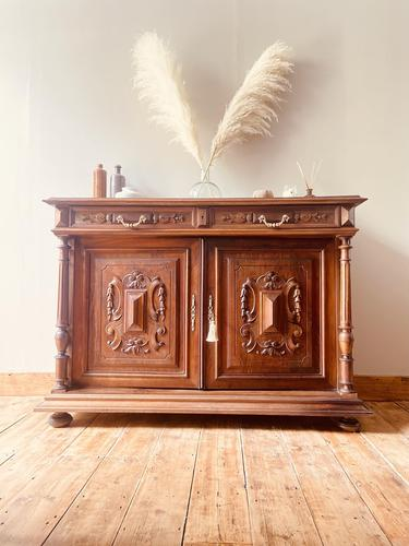 French Antique Sideboard / Buffet / French Walnut Buffet (1 of 10)