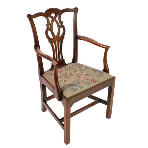 18th Century Chippendale Elbow Chair (1 of 8)