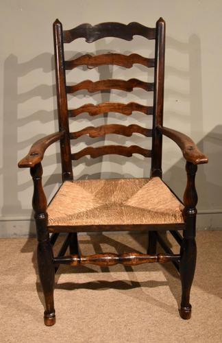 North Country Ladder Back Ash Armchair (1 of 5)