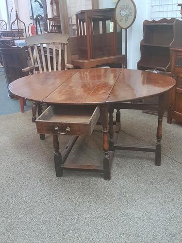 Antique Gateleg Table (1 of 8)