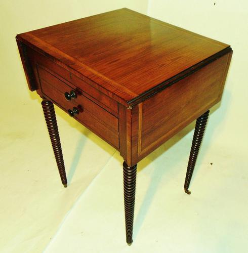 Regency Kingwood Small Pembroke Table (1 of 12)