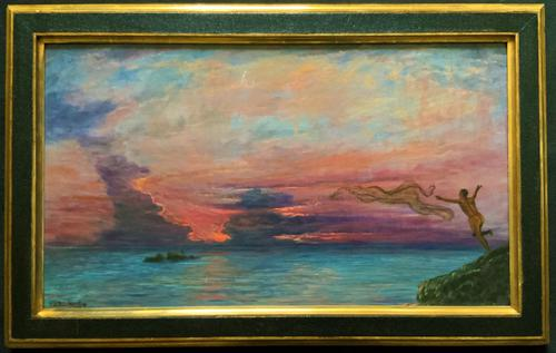 'The Last Throw' Original Signed 1972 Vintage Seascape Oil On Board Painting' (1 of 13)