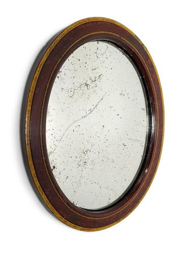 Oval Framed Mirror (1 of 5)