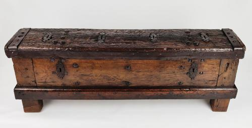 Early 16th Century Coin Chest (1 of 18)