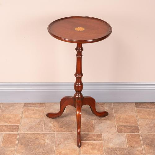 1920s Fan Inlaid Mahogany Wine Table (1 of 8)