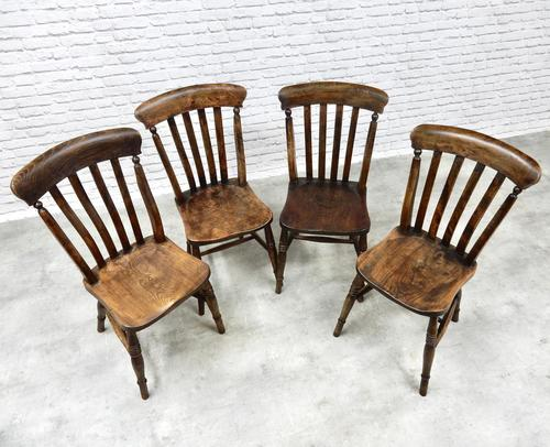 Harlequin Set of 4 Kitchen Windsor Chairs (1 of 5)