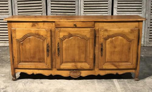 French Early Cherry Wood Sideboard (1 of 14)