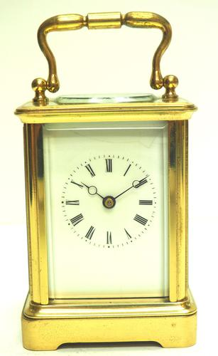 Fine Antique French 8-day Carriage Clock Timepiece - Interesting & Rare Size c.1870 (1 of 13)
