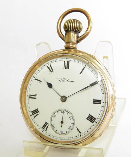 Antique 1912 Waltham Traveler Pocket Watch (1 of 5)